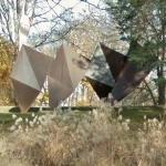 'Texas Triangles' by Charles Ginnever (StreetView)