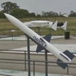 AAM-N-4 Oriole missile (StreetView)