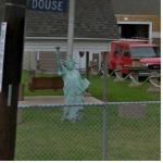 Imitation Of The Statue Of Liberty (StreetView)