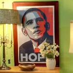 Barack Obama 'Hope' by Shepard Fairey (StreetView)
