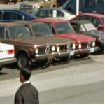 Negected classic BMW Cars (StreetView)