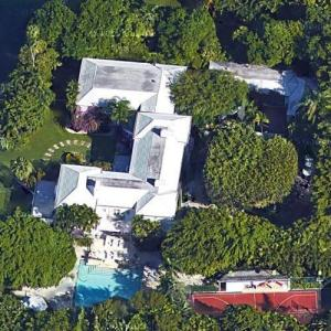 Barry Gibb's House (Google Maps)