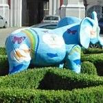 Elephant sculpture (StreetView)