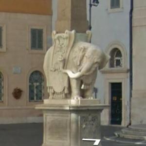 Pulcino della Minerva (StreetView)