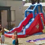 Inflatable slide (StreetView)