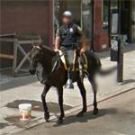 Newark mounted police (StreetView)