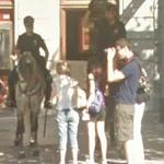 Mounted police (StreetView)