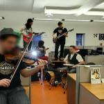 Impromptu jam session (StreetView)