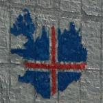 Iceland Flag Map (StreetView)