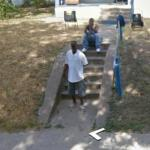 Watching The Google Car (StreetView)