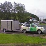 Google Street View car with a trailer (StreetView)