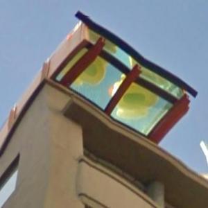 Adelphi Hotel hanging pool (StreetView)