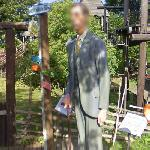 Statue of Robert Wadlow (tallest person in history)