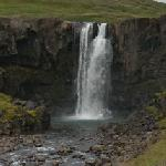 Waterfall in Seydisfjördur