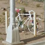 Ghost Bike - Roy Sekreta (StreetView)