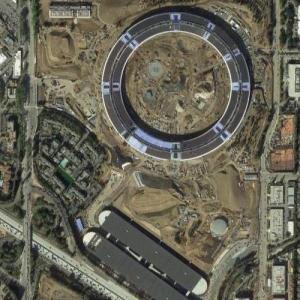 "Apple's ""Campus 2"" (Google Maps)"