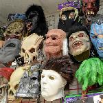 Halloween masks (StreetView)