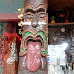 Tiki statue (StreetView)
