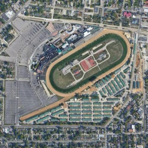 Churchill Downs (Google Maps)