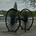 National Railway Museum GWR 2002 wheels (StreetView)
