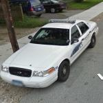 Willimantic, CT Police Car
