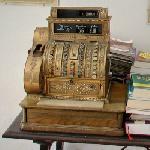 Antique cash register (StreetView)