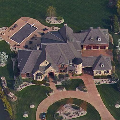 Michael Andretti's House In Fishers, IN (Google Maps) (#2