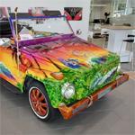 Tiki-themed 1974 Volkswagen Thing