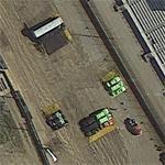 Monster truck show preparations (Google Maps)