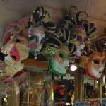 Venetian carnival masks (StreetView)