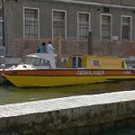 Venetian water ambulance (StreetView)