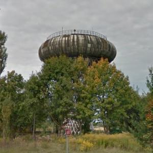 Ciechanow Water Tower (StreetView)