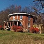 10 Sided Brick House (StreetView)