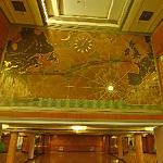 RMS Queen Mary - Dining Room Map (StreetView)