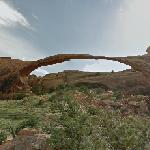 Landscape Arch (StreetView)