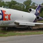 FedEx Boeing 727 [N288FE] Stuck in Mud