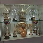 McLaren trophy case