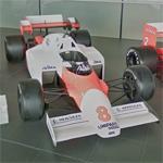 1984 McLaren Formula One car (StreetView)