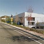 Location of Paul Walker's fatal car crash (StreetView)