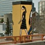'Promenade' by Julian Opie (StreetView)