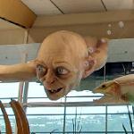 Gollum at Wellington Airport