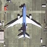 Boeing 787 - Thomson Airways (Google Maps)