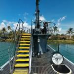 On-board the USS Bowfin