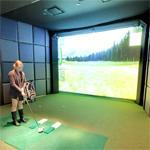 Golf simulator (StreetView)