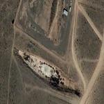 Mysterious Looking Battleship In The Middle of The New Mexico Desert