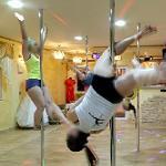 Pole dancers (StreetView)