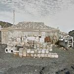 Shackleton's Hut at Cape Royds (StreetView)
