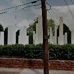 '54 Columns' by Sol LeWitt (StreetView)