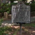 Horry-Guignard House Historic Marker