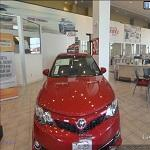 Inside the TOYOTA Showroom